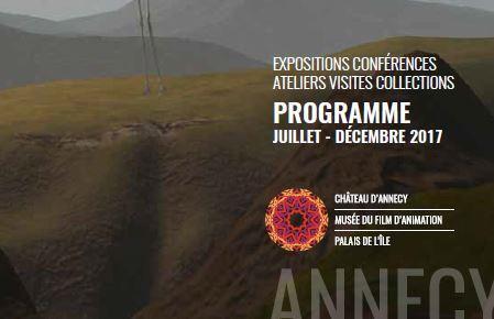 Expositions et activités - Juillet à décembre 2017