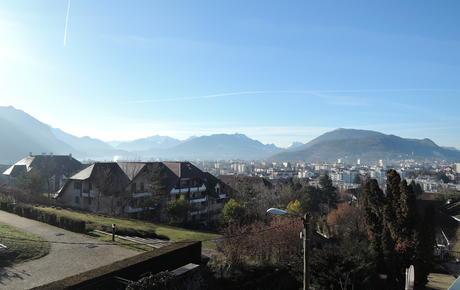 """Lecture de paysage """"Plongée dans le paysage"""" (Annecy-le-Vieux)"""