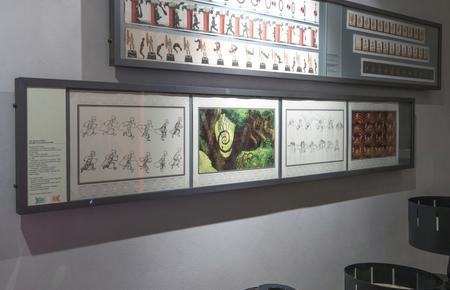 Univers du cinéma d'animation, espace d'exposition