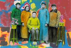 Exposition Chine, art en mouvement - Lei Lei Thomas Sauvin - Hand Colored