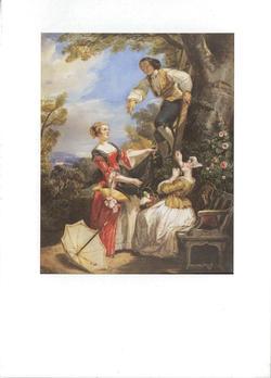 """Carte postale """"J.Jacques Rousseau"""""""