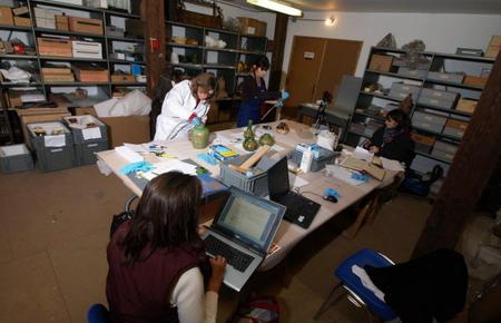 Les équipes du musée et de l'agglomération d'art et d'histoire
