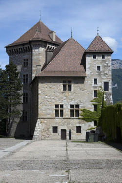 le logis et la tour Perrière, musée-château d'Annecy.