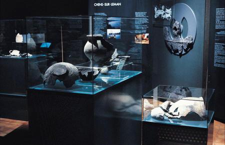 ORLA, Observatoire Régional des Lacs Alpins, salle d'archéologie lacustre