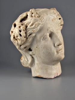 Tête de Bacchante découverte en 1823 à Annecy